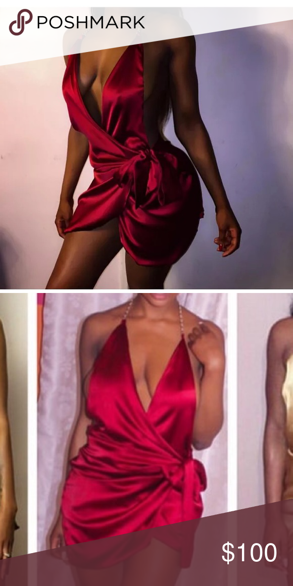 COMING SOON! shiny Blood red mini dress As shown ! This is a business ! Unless pictures are provided . Do NOT ask for modeled pictures. 👋🏽 Most of my items are new and if I try them On they are not technically new now are they ? NO TRADES ! Or additional photos . Most websites only show the modeled items and I treat my closet as an actual business considering these are about 95% new items ! Thanks you , I appreciate you're participation ! Dresses Mini