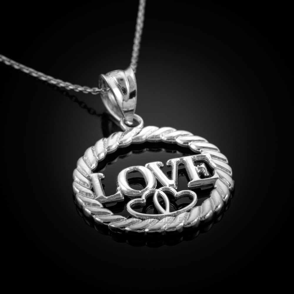 Park Art My WordPress Blog_I Love You Necklace Pendant