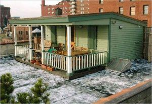 ニューヨークの隠れ家 ビルの屋上にあるペントハウスまとめ