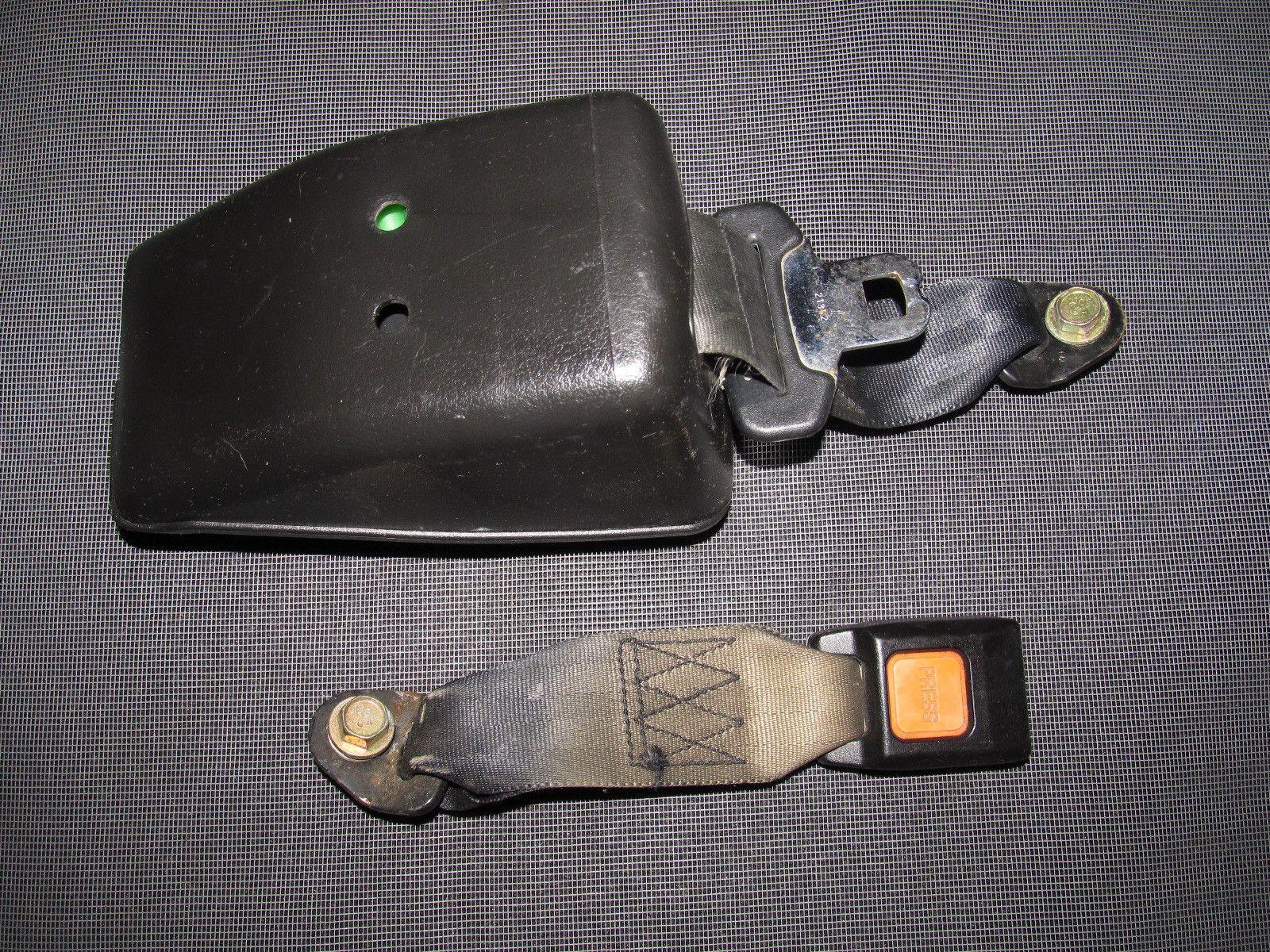 hight resolution of 89 90 91 92 93 94 nissan 240sx oem rear seat belt rear left