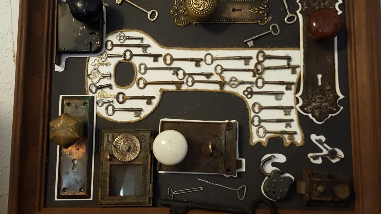 My skeleton key collection | Craft projects