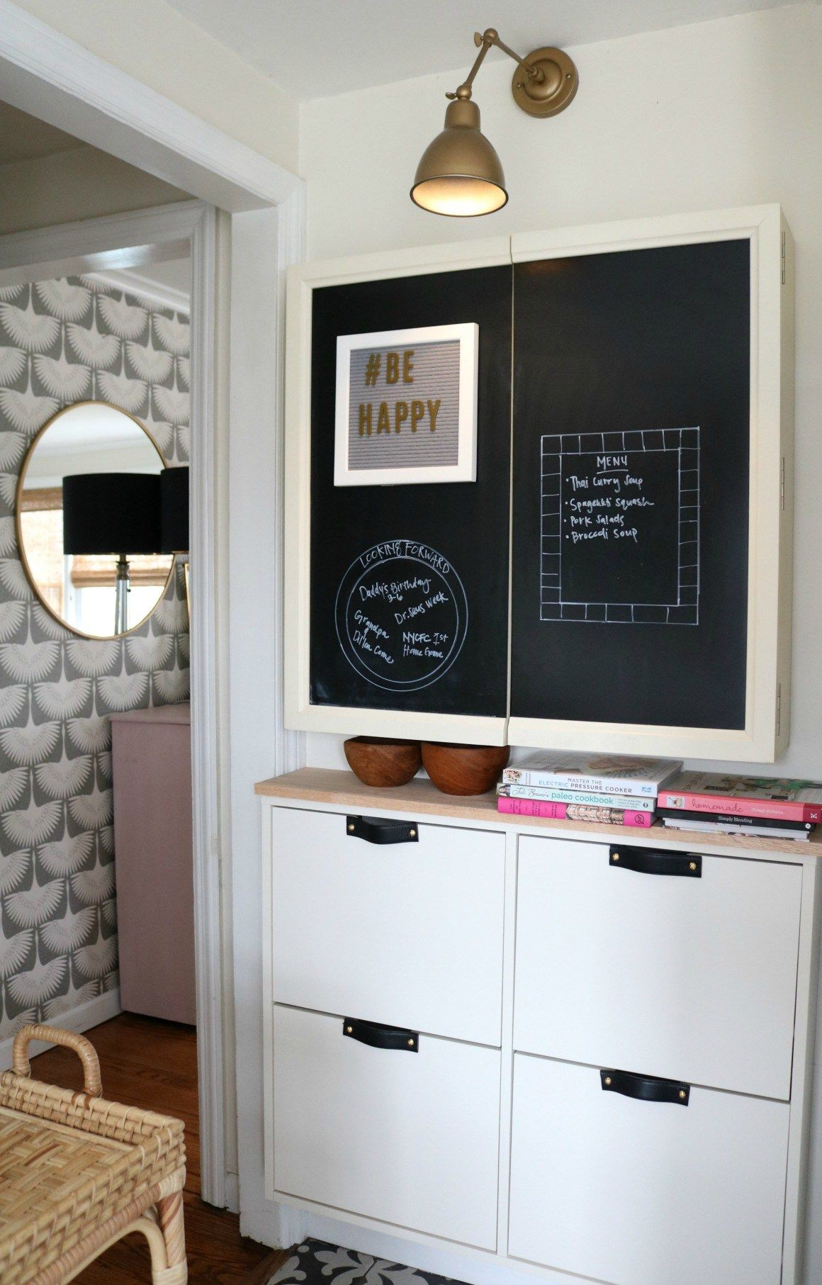 Stall ikea hack small space solution in our kitchen home decor