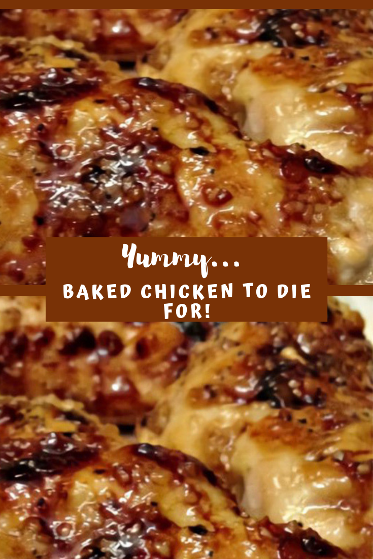 Yummy Baked Chicken To Die For Yummy Baked Chicken To Die For Dinner Easyrecipe Healthyrecipes At The P Recipes Baked Chicken Cooking Recipes