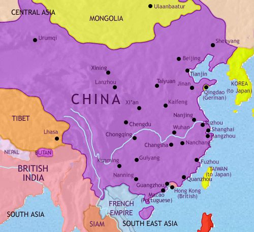 history map of China 1914AD Informative Studies Maps Pinterest - fresh world history map activities the rise of islam answers