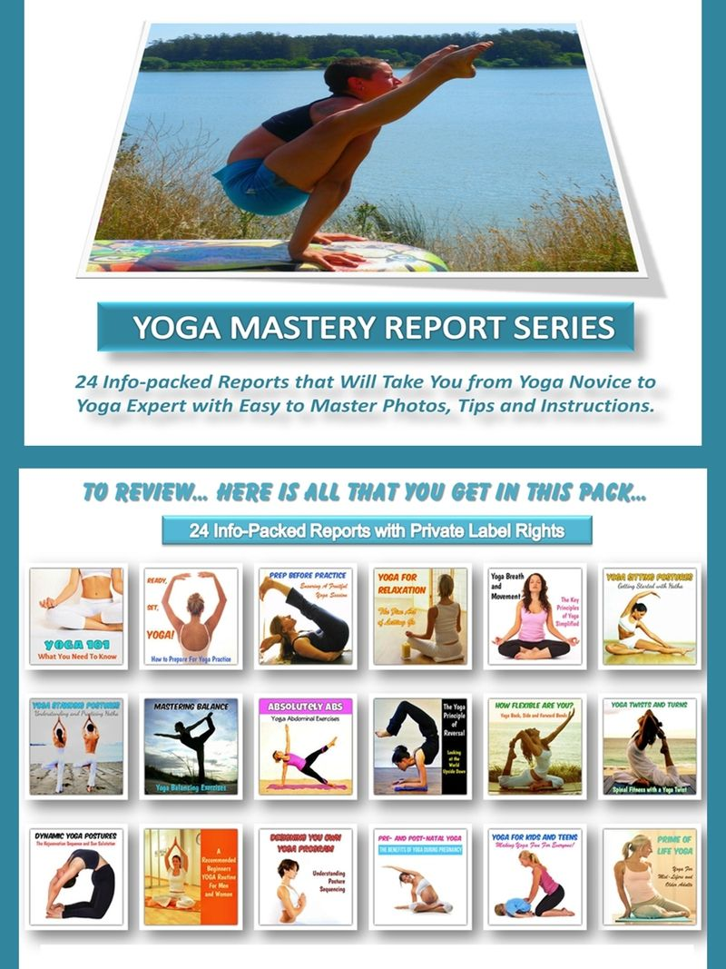 Yoga And Meditation Report Series Quality Value Packed Affordable Private Label