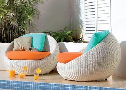 muebles de jardín modernos   jardín moderna, muebles de jardin y ... - Muebles De Jardin