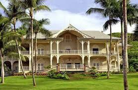Maison coloniale des antilles maison pinterest for Plan maison coloniale