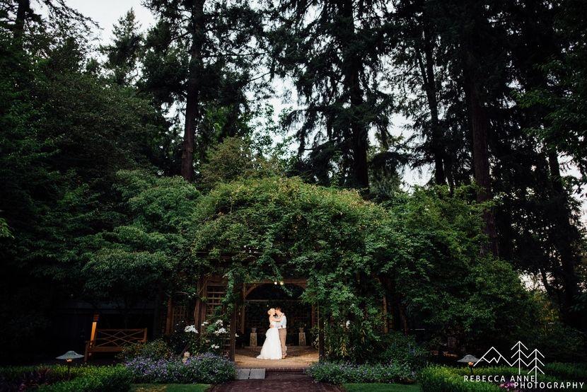 Lakewold Gardens Wedding // Laura & Emmett Garden