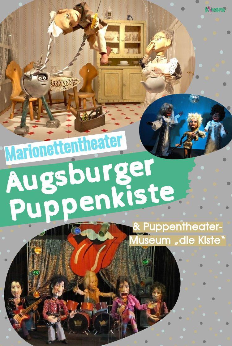 Augsburger Puppenkiste Puppentheatermuseum Die Kiste Augsburger Puppenkiste Theater Fur Kinder Geschenkideen Kinder