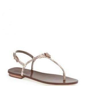 50% off BCBG Max Azria - Thong Sandals Mushroom Bunt - $74.50