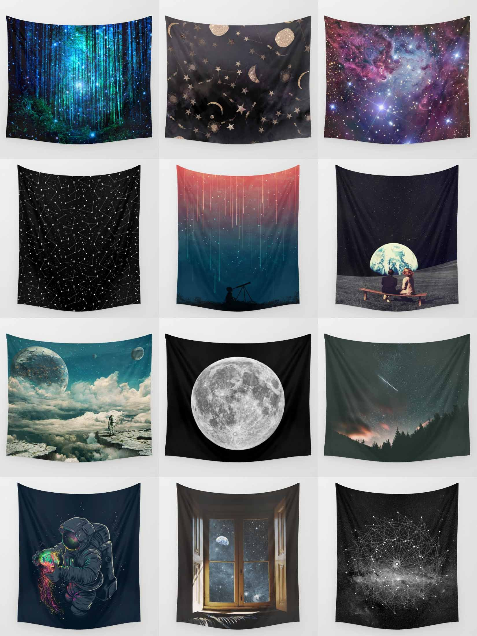 Society6 Space Tapestries Society6 Is Home To Hundreds