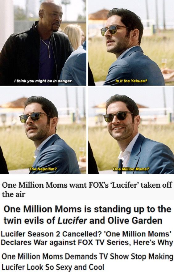 Seriously In America Satanism Can Be An After School Program But A Tv Show Can T Have Lucifer Shown From A Different Lucifer Quote Lucifer Morningstar Lucifer