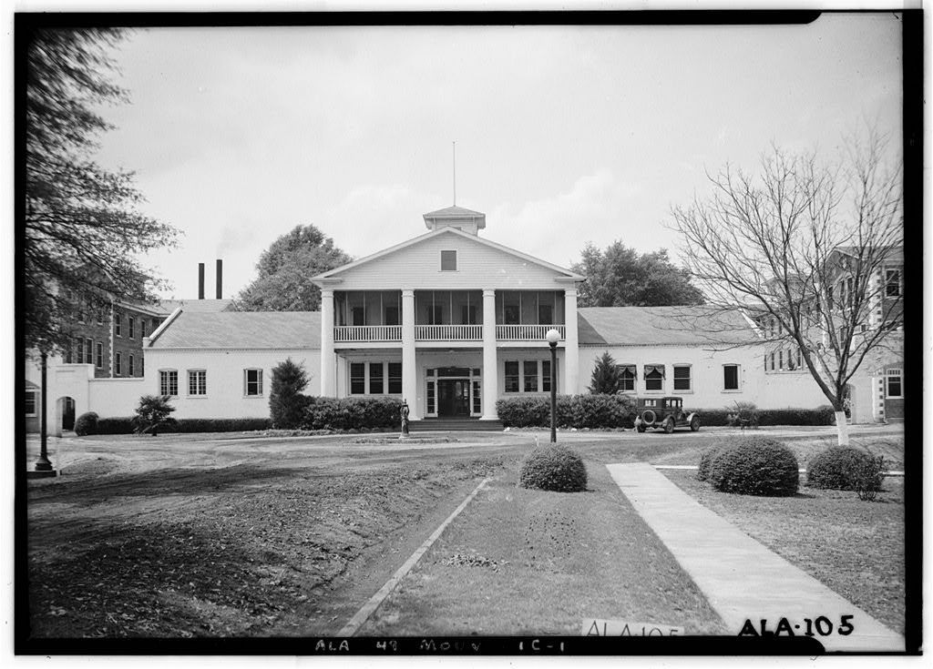 Vintage And Current Photos Show History Of Abandoned Alabama Mental