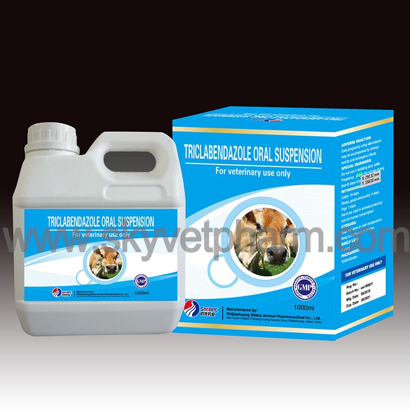 Triclabendazole oral suspension INDICATION For the treatment and