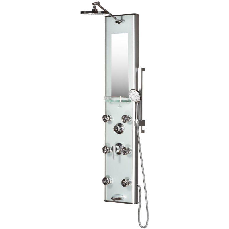 Pulse 1013 Gl Multi Function Shower Panel With Rain Shower Head
