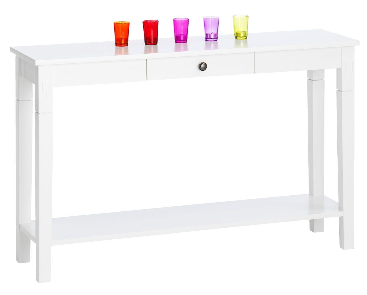 Sivupöytä AULUM 1 laatikko valkoinen JYSK Entrance Pinterest