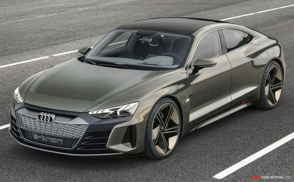 New Audi E Tron Gt Concept Debuts At La Auto Show With Images Audi Gt Audi E Tron E Tron