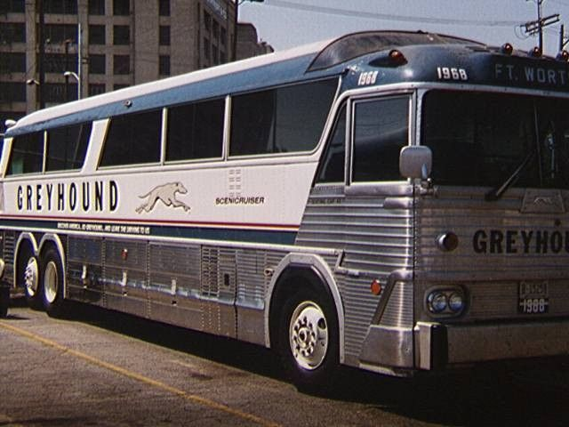 Rare Greyhound Bus Travel and American Tour Films | sillo in