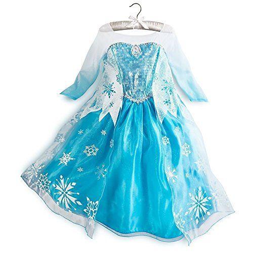 Handschuhe Frozen Elsa Prinzessin Mädchen Kostüm Anna Kinder Weihnachten Kleider