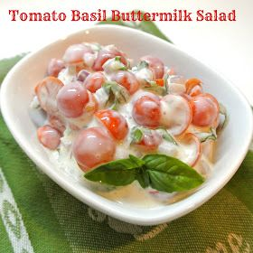 Mom, What's For Dinner?: Cherry tomato salad