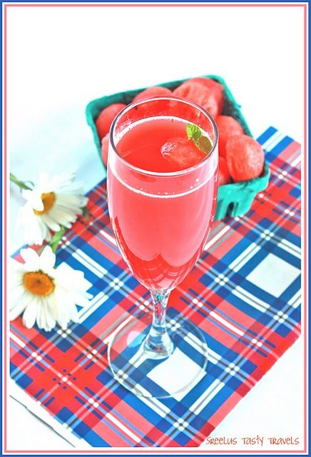 Watermelon chiller with hint of spices, perfect for picnics !!