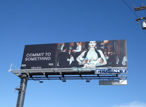 Equinox gyms new Commit to something billboards…http://www.dailybillboardblog.com/2016/03/commit-to-something-equinox-gyms.html
