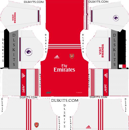 Adidas Arsenal 2019 2020 Dream League Soccer Kits Logo Soccer Kits Arsenal Kit Arsenal
