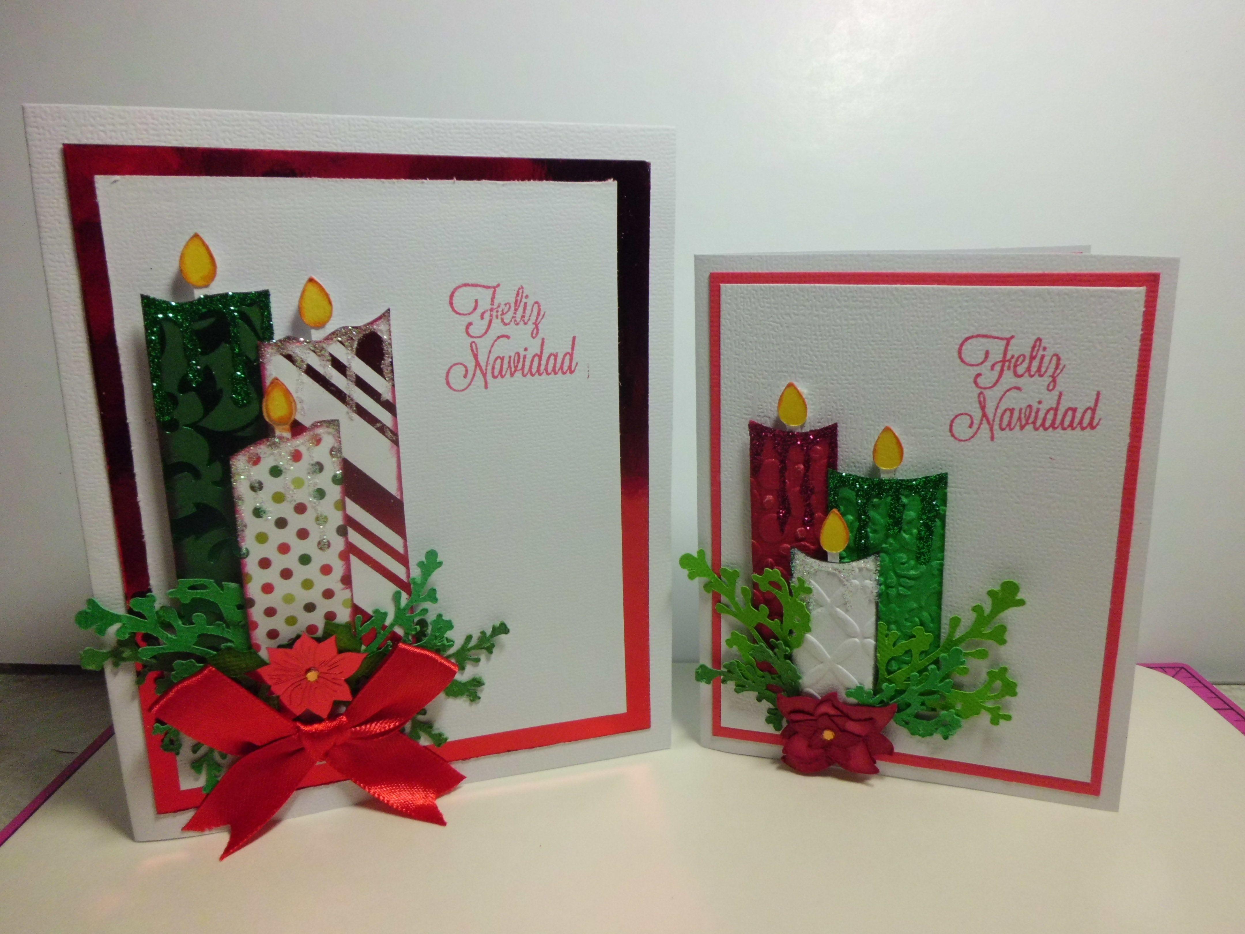 Tarjetas de navidad decoracion navidad pinterest - Hacer una tarjeta navidena ...