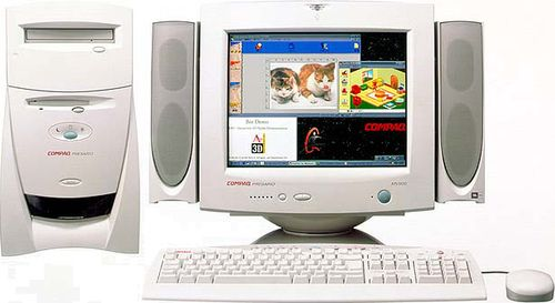 The Ancient Compaq Presario 5510 Spaceship Compaq Old Computers Buy Apple