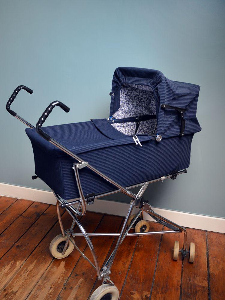 landau vintage pram landaux pinterest. Black Bedroom Furniture Sets. Home Design Ideas