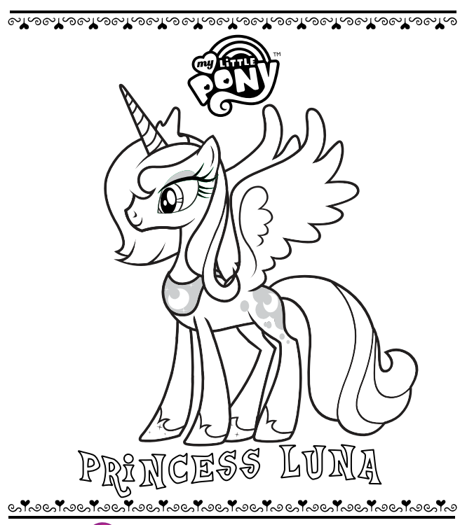 mlp printable coloring pages official my little pony site