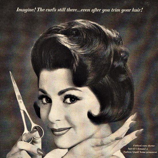 Vintage Ad 1961 Quick Permanent