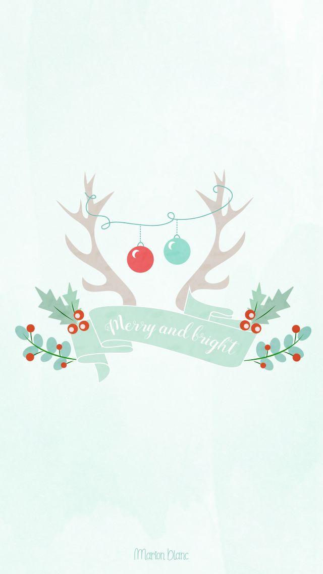 Christmas C Marion Blanc Christmas Phone Wallpaper Christmas Wallpaper Holiday Wallpaper