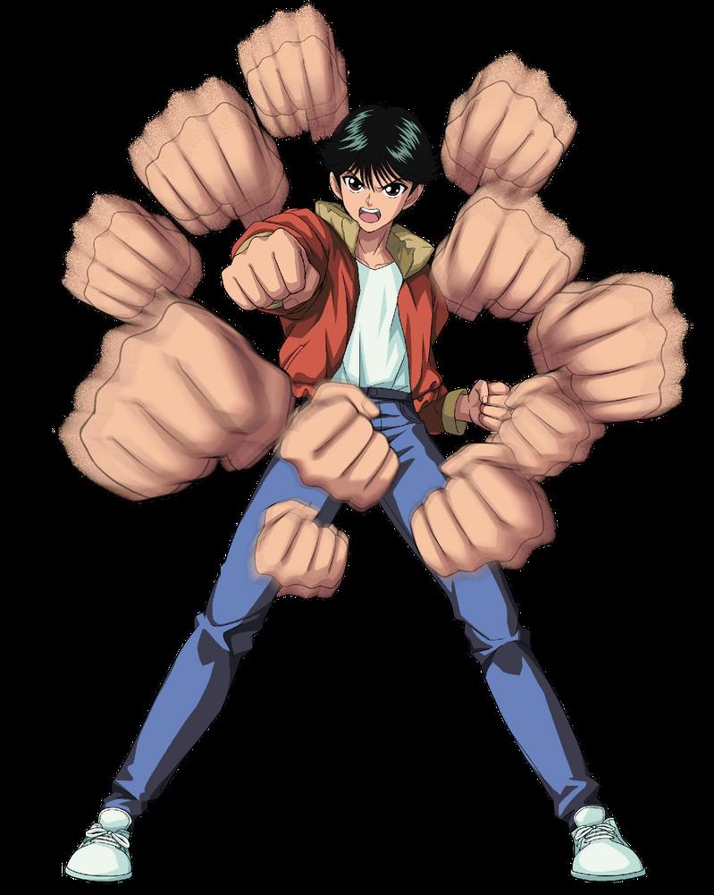 Yusuke Urameshi Spirit Detective By Bodskih On Deviantart Yu Yu Hakusho Anime Anime Expressions Hunter Anime