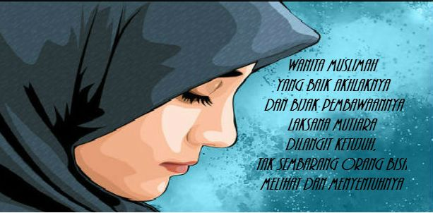 Gambar Kata Bijak Islami Tentang Wanita