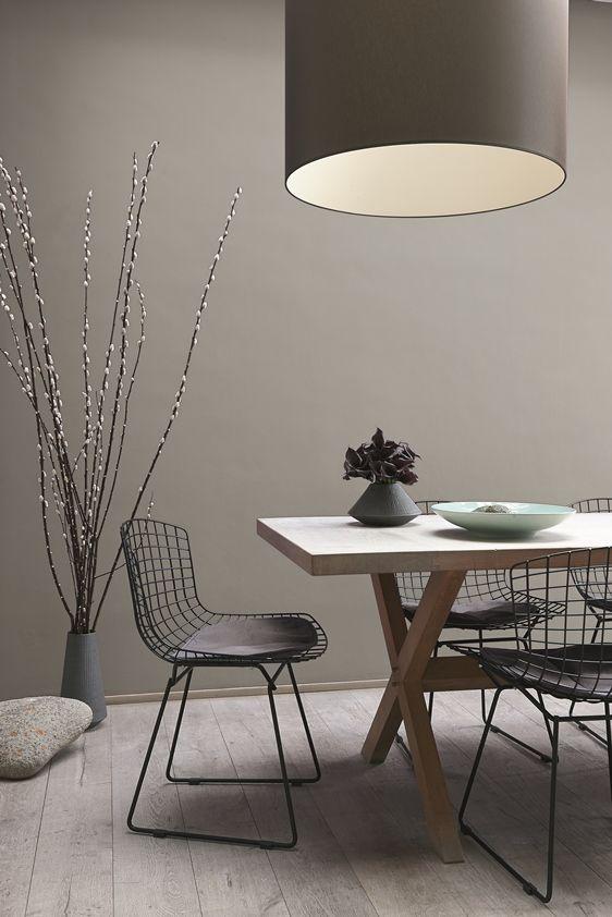 Warme kalkmatte kleuren voor op de muur | muren woonkamer ...
