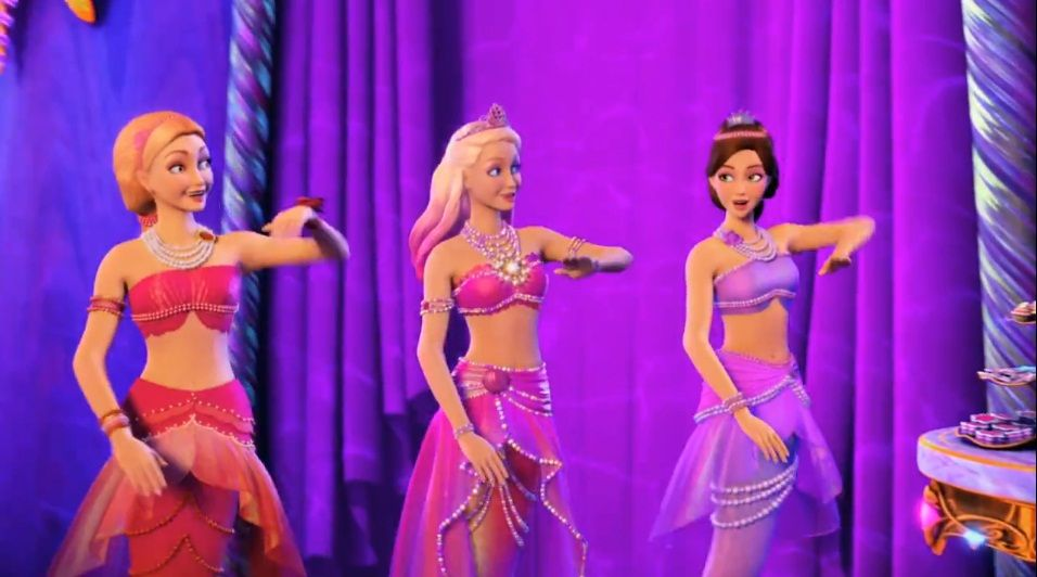 barbie in the pearl princess - Google Search