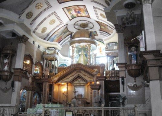 simala altar simala church cebu philippines pinterest churches