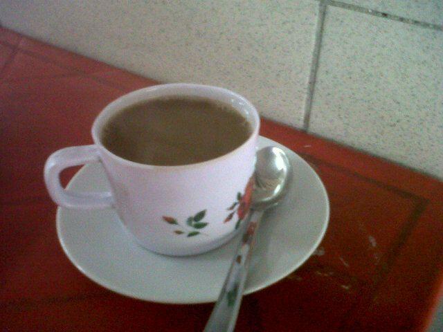 @angelhidrogo nos comparte una foto del Café que está a punto de disfrutar. ¡Nuestro Café!.