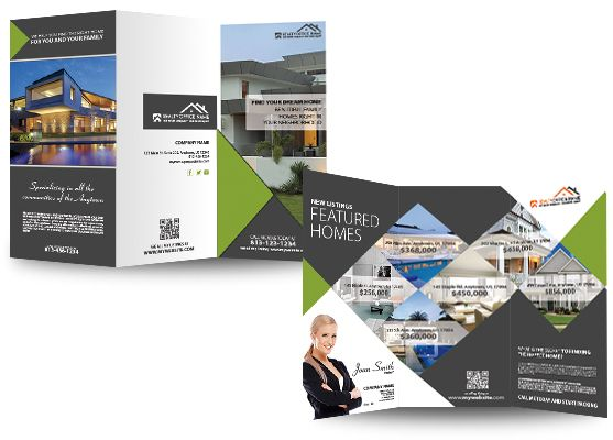Real Estate Brochure Template Brochures Brochure Template And