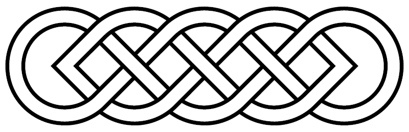 Plotting With The Celtic Knot Method Celtic Knot Drawing Celtic Knot Designs Celtic Symbols
