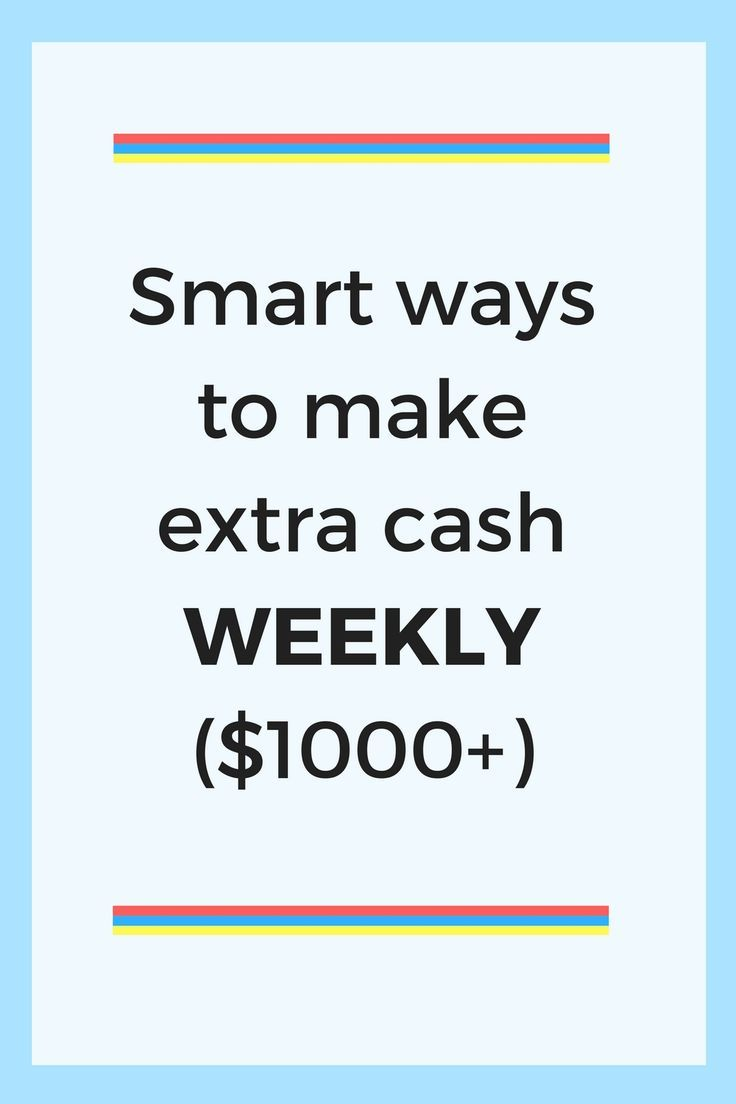 How To Make 1000 Dollars Fast (in one week or less) Ways