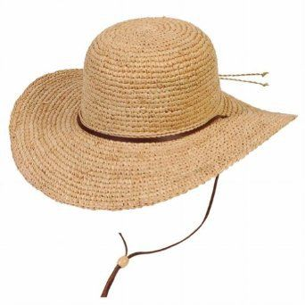 f6960839501 The Perfect Summer Straw Hat with string to keep it from blowing away.