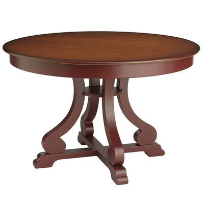 Marchella Dining Table Red Black Round Dining Table Dining Table 48 Round Dining Table