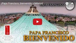 """Preparan la visita del Papa Francisco a México con una serie de """"videoblogs"""""""
