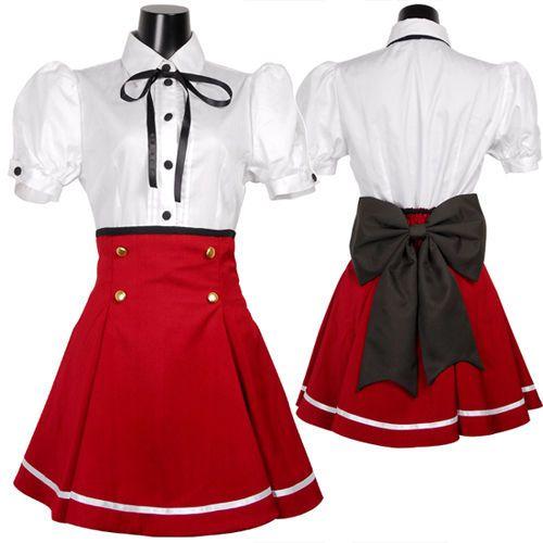 Anime Japanese Japan School Girl Uniform Cosplay Costume New
