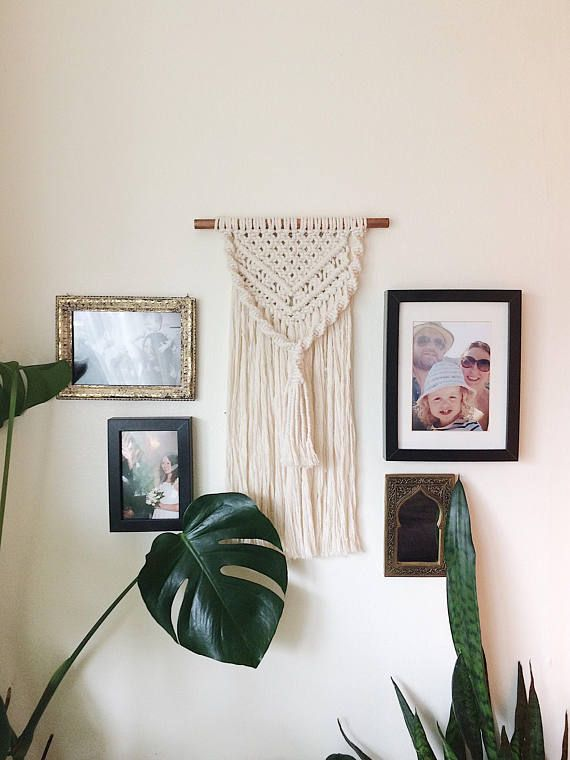 This Listing Is For The Wall Hanging Shown To Be Handmade To Order Just For You By Me In Manchester Hanging Wall Decor Bedroom Wall Hangings Macrame Wall Art