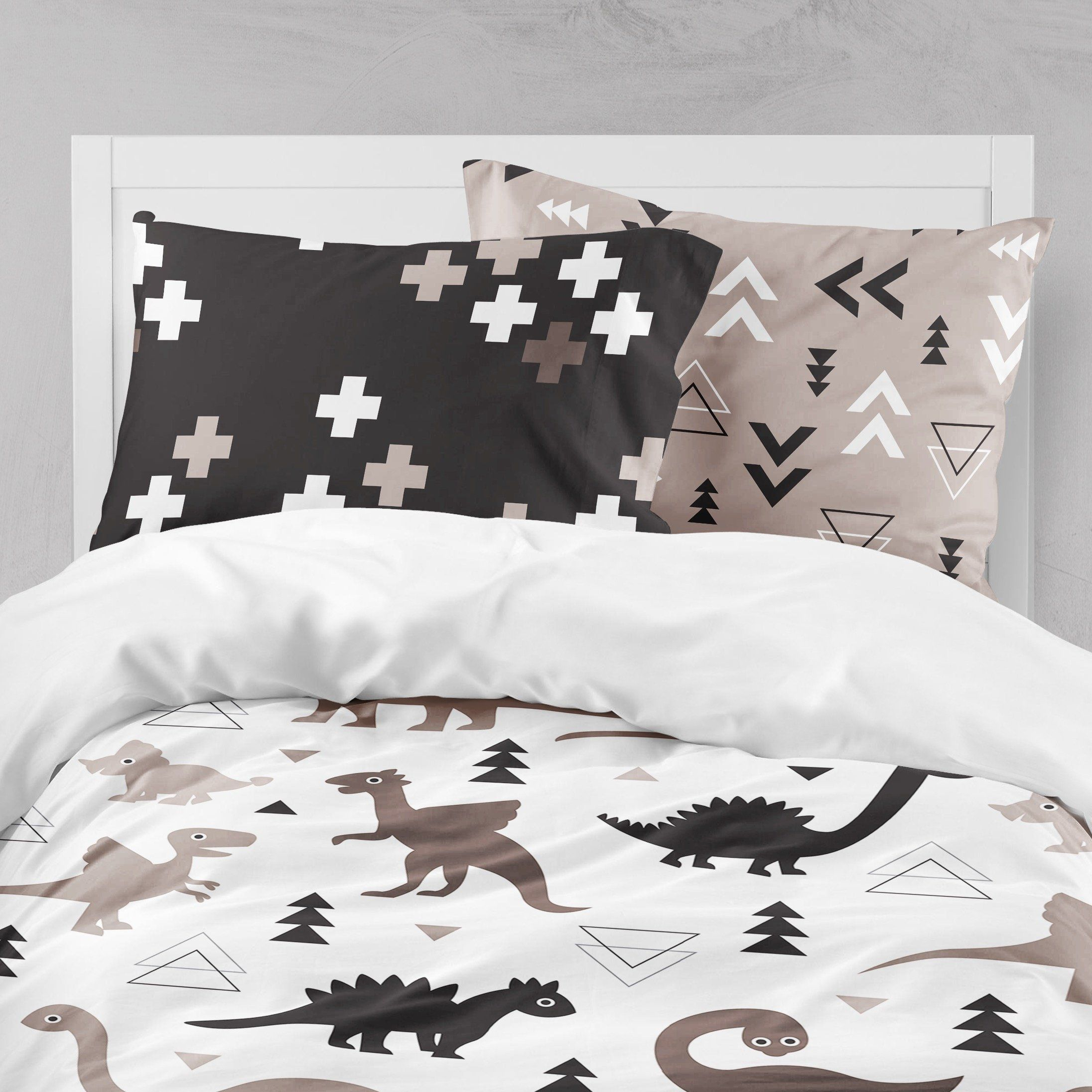 Soft All Size Duvet Set Ink Printed Design Quilt Cover Bedding Sets Pillowcase