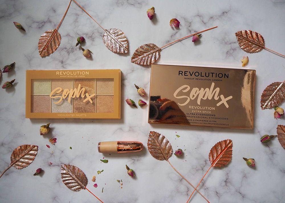 Makeup Revolution x Soph collection review Makeup