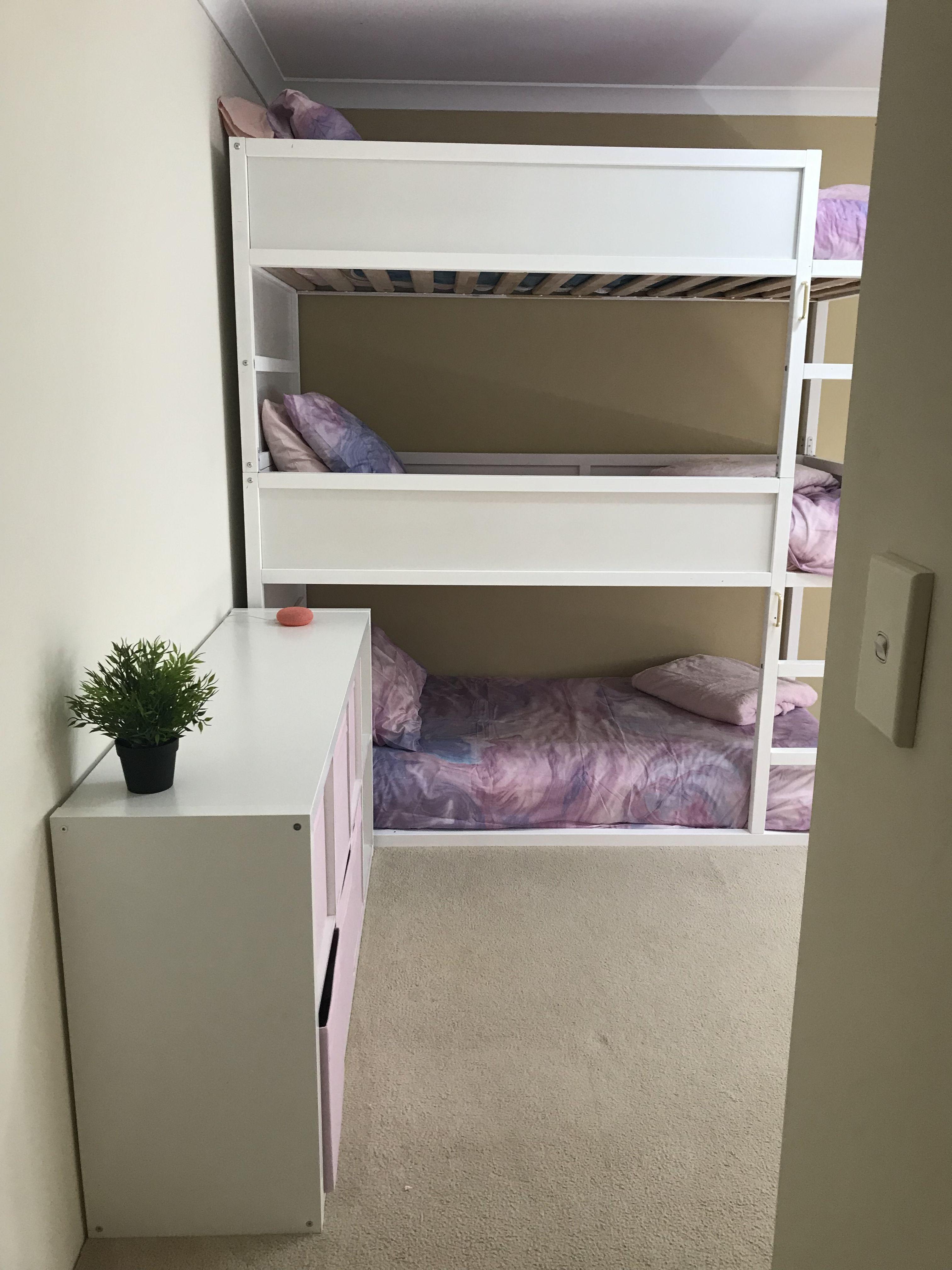 Ikea Kura Bunk Triple Bunk Bunk Beds L Shaped Bunk Beds Ikea